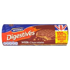 <b>Biscuits - Mcvicties milk choco digestives