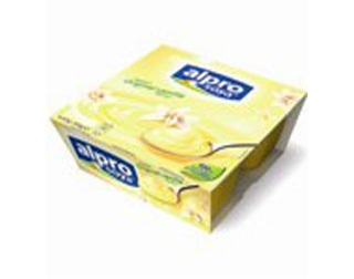 <b>Dessert- Alpro soya and vanilla