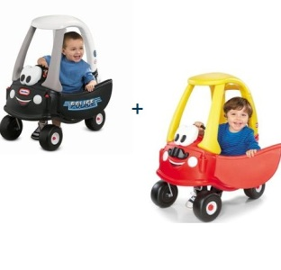 <b>*2 Little tikes-Cozy car