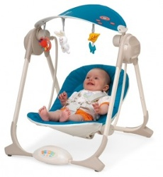 <b>Baby bouncer-Chicco polly swing