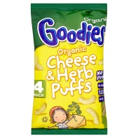 <b>Organix goodies</b> -Cheese & herb puffs