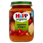 <b>Hipp Organic- Vegetable lasagne