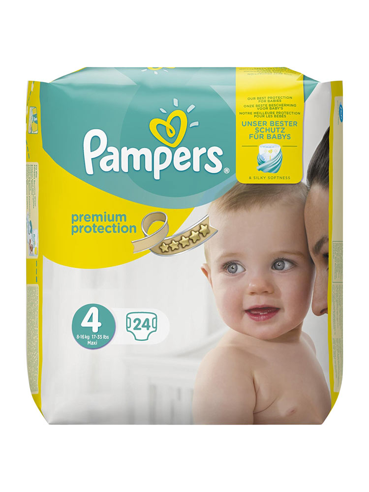 <b>.Pampers Baby Dry Carry Pack Size 4