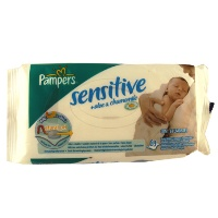 <b>Wipes -Pampers Sensitive