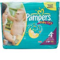 <b>.Pampers Baby Dry Carry Pack Size 4+ maxi plus