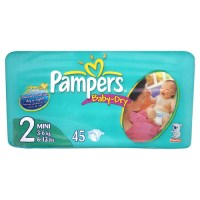<b>.Pampers Baby Dry Carry Pack Size 2