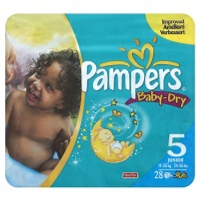 <b>.Pampers Baby Dry Carry Pack Size 5