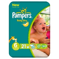 <b>.Pampers Baby Dry Carry Pack Size 6