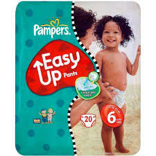 <b>.Pampers pants Size 6