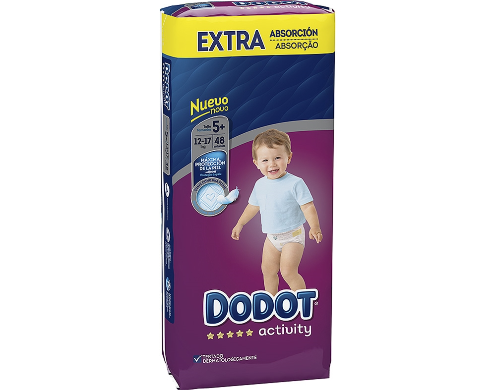 <b>Dodot - Nappies size 5