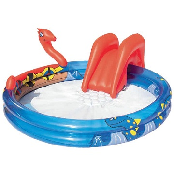 <b>Paddling  pool with slide </b>