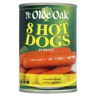 <b>Hot dogs -Ye Olde Oak Hot Dogs